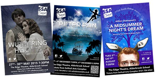 SSA Drama Posters